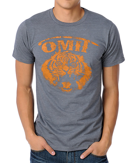 Omit Call Of The Wild Charcoal T-Shirt