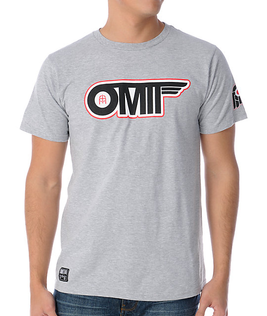 Omit Flyby Heather Grey T-Shirt