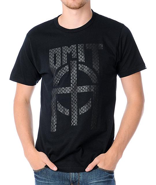 Omit Snake Skin Black T-Shirt