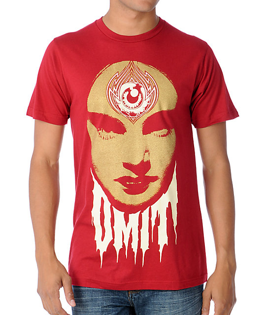 Omit Swamp Queen Red T-Shirt