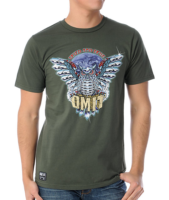 Omit Tried And True Army Green T-Shirt