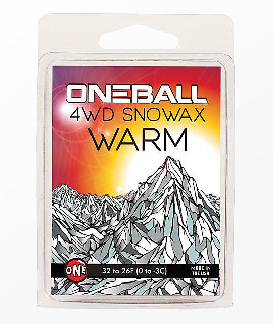 One Ball Jay 4WD Warm Snowboard Wax