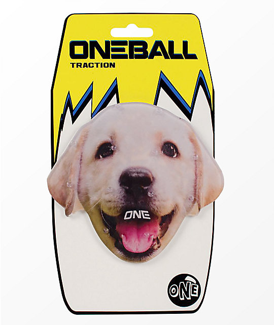 One Ball Jay Lab Puppy Snowboard Stomp Pad