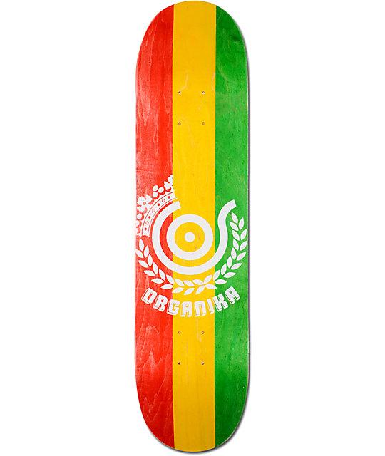 "Organika Rasta PP 8.0""  Skateboard Deck"