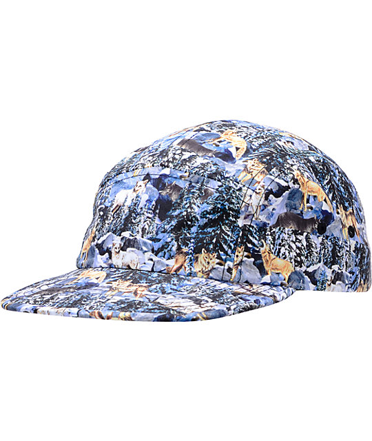 Original Chuck Pack Hunter Blue & White 5 Panel Hat