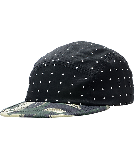 Original Chuck Polka Camo LTD 5 Panel Hat