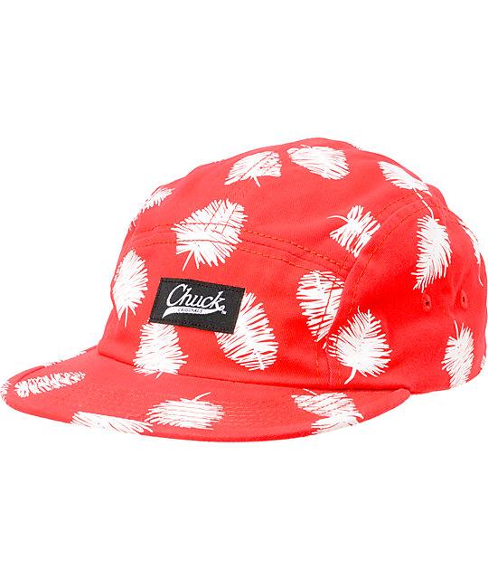 Original Chuck Squibbles Red 5 Panel Hat