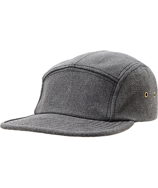 Original Chuck Syracuse Camper Black 5 Panel Hat