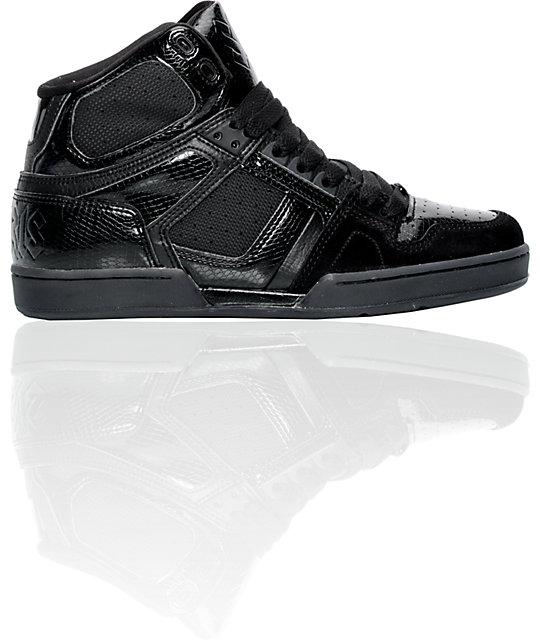 Osiris Bronx Black Shoes
