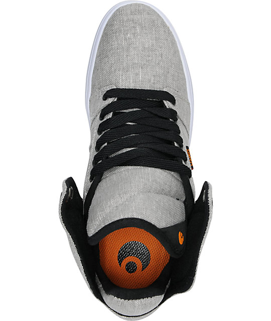 Osiris Effect Grey & Black Skate Shoes