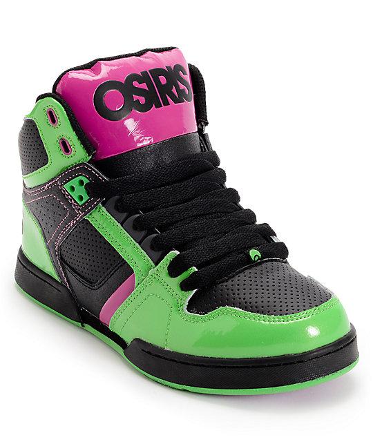 Osiris Skate Shoes Black And Purple