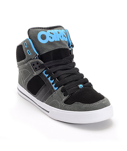 Osiris Kids NYC 83 VLC Charcoal, Black & Astor Skate Shoes