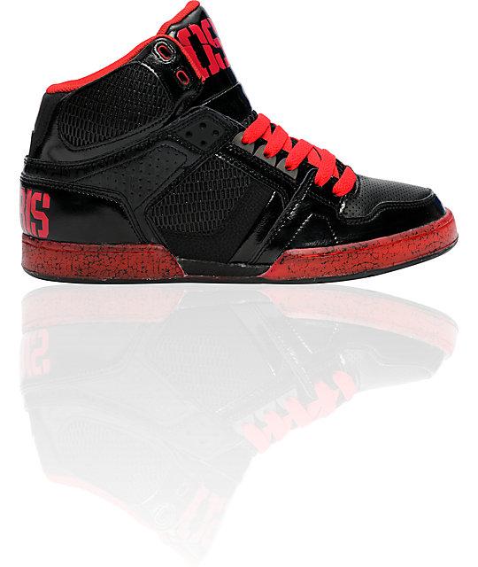 Osiris NYC 83 Black, Red, & OS50 Shoes