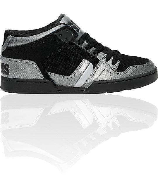 Osiris NYC 83 Charcoal & Black Shoes