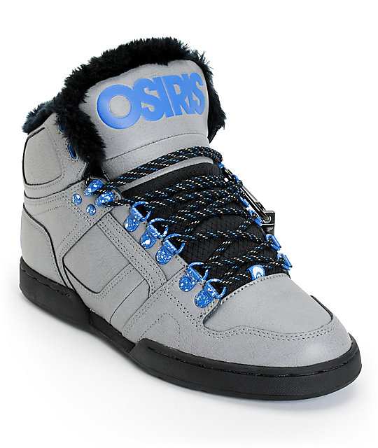 Osiris NYC 83 VLC Skate Shoe (Little Kid/Big Kid),Black