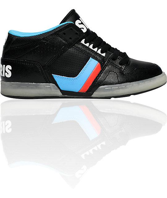 Osiris NYC 83 Mid Glow-In-The-Dark Shoes