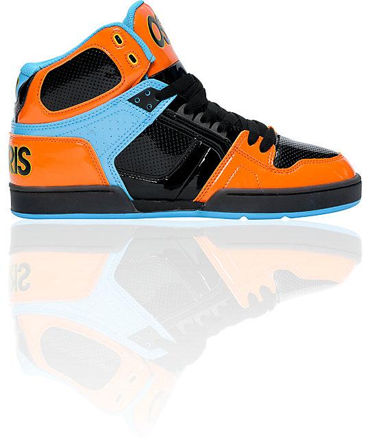 Osiris Shoes Orange Black Blue