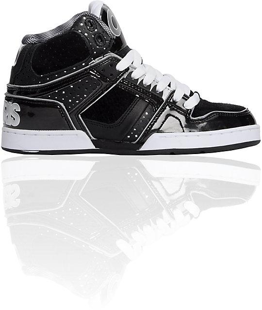 Osiris NYC 83 Ultra Black & Silver Shoes