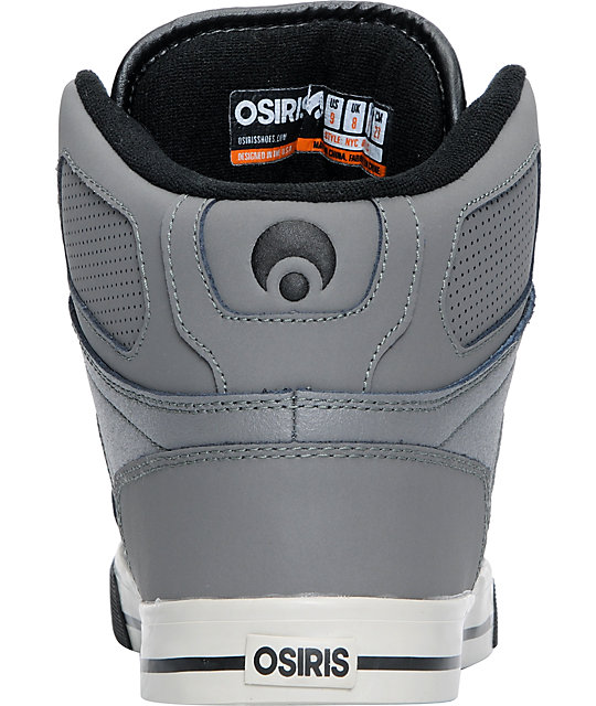 Osiris NYC 83 VLC Charcoal, Pewter & Black Shoes