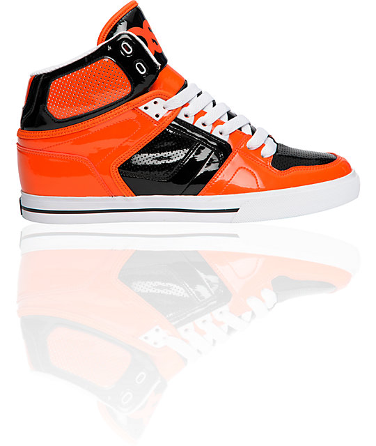 Osiris Shoes Orange Black White