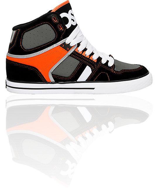 Osiris NYC 83 VLC Orange & Black Shoes