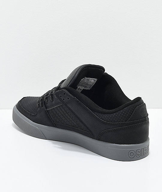 Osiris Protocol Black, Charcoal & Work Skate Shoes
