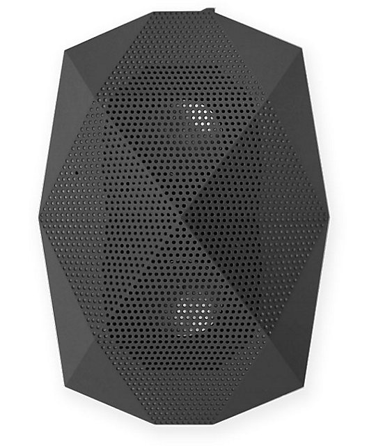Outdoor Technology Turtle Shell Black Wireless Bluetooth Boombox