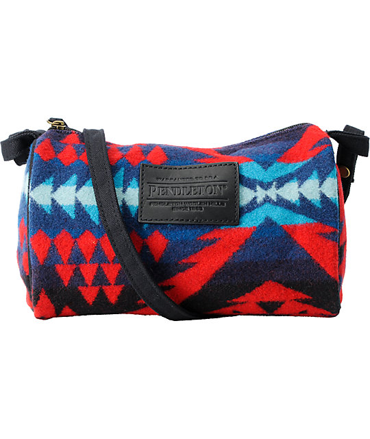 Pendleton Red Diamond Desert Print Dopp Bag