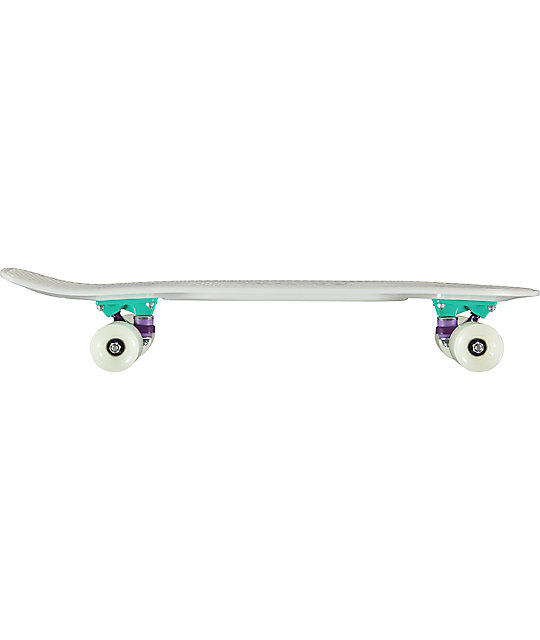 "Penny Nickel Galactic Glow 27"" Glow In The Dark Cruiser Complete Skateboard"