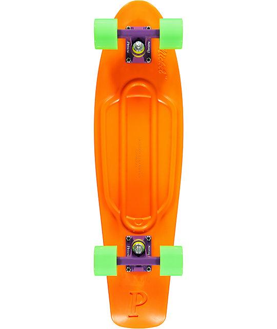 "Penny Nickel Orange, Purple & Green 27""  Cruiser Complete Skateboard"