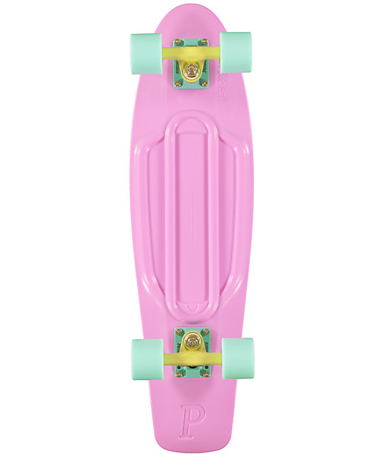 "Penny Nickel Pastel Lilac 27""  Cruiser Complete Skateboard"