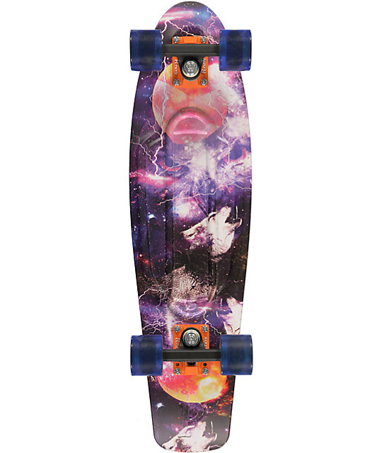 Penny Nickel Space 27 Quot Cruiser Complete Skateboard At