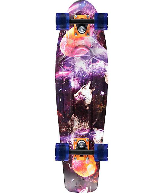 "Penny Nickel Space Print 27""  Cruiser Complete Skateboard"