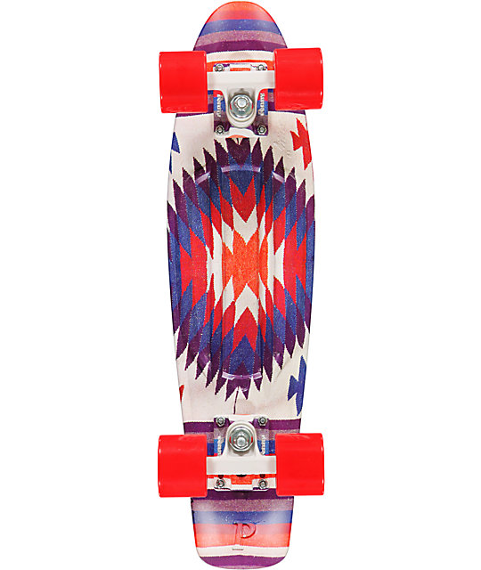 "Penny Original Aztec Print 22""  Cruiser Complete Skateboard"
