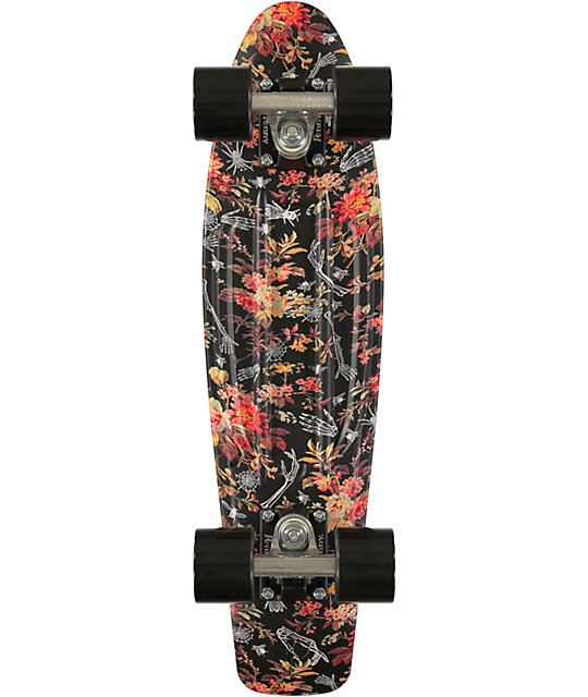 """Penny Original Floral Print 22""""  Cruiser Complete Skateboard"""