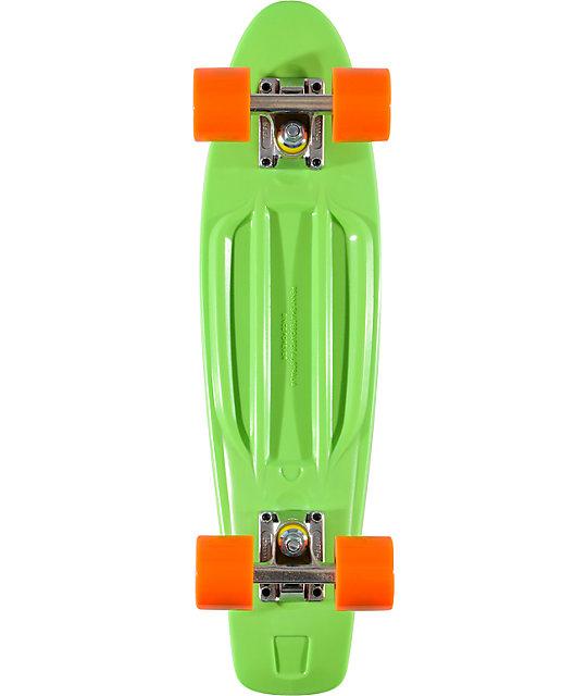 "Penny Original Green & Orange 22.5""  Cruiser Complete Skateboard"