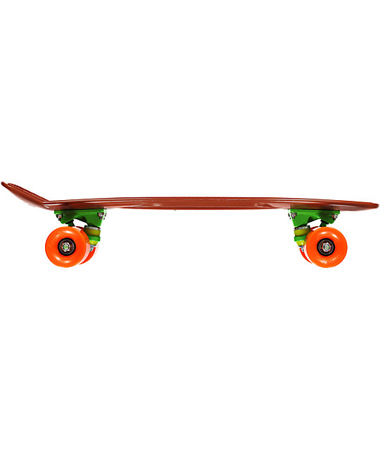 "Penny Original Organic Brown, Green & Orange 22""  Cruiser Complete Skateboard"