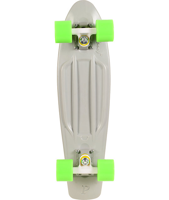 "Penny Original Organic Grey & Green 22.5""  Cruiser Complete Skateboard"