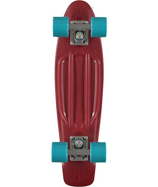 "Penny Original Organic Maroon 22.5""  Cruiser Complete Skateboard"