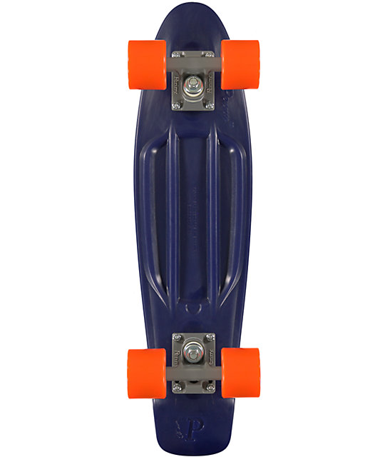 "Penny Original Organic Navy Blue 22.5""  Cruiser Complete Skateboard"