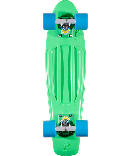 "Penny Original Organic Teal & Blue 22.5""  Cruiser Complete Skateboard"