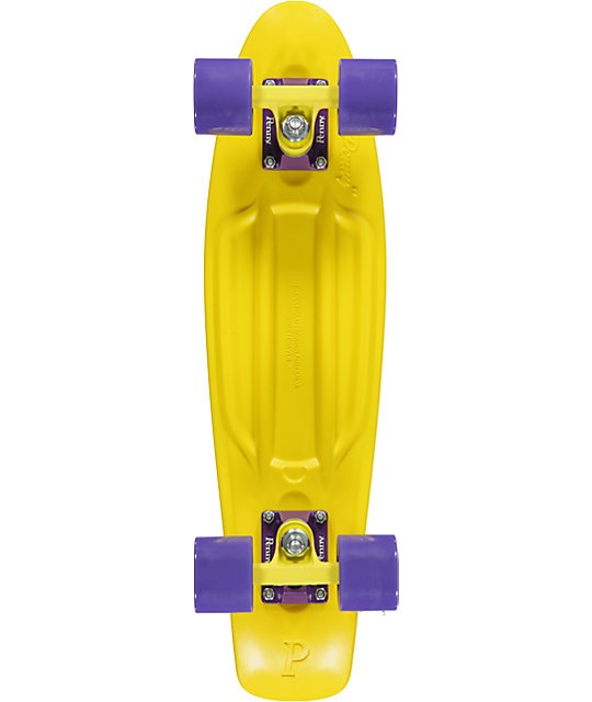Penny Original Yellow & Purple 22.5