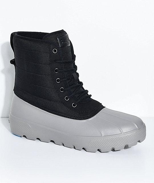 People Footwear Jasper Really Black & Thunder Grey Boots