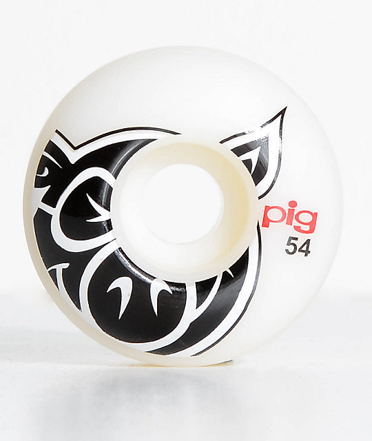 Pig Wheels Pig Head ProLine Natural 54mm Skateboard Wheels
