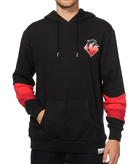 Pink Dolphin Holiday Waves Hoodie at Zumiez : PDP