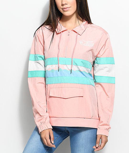 Pink Dolphin Rare Pink Anorak Jacket | Zumiez