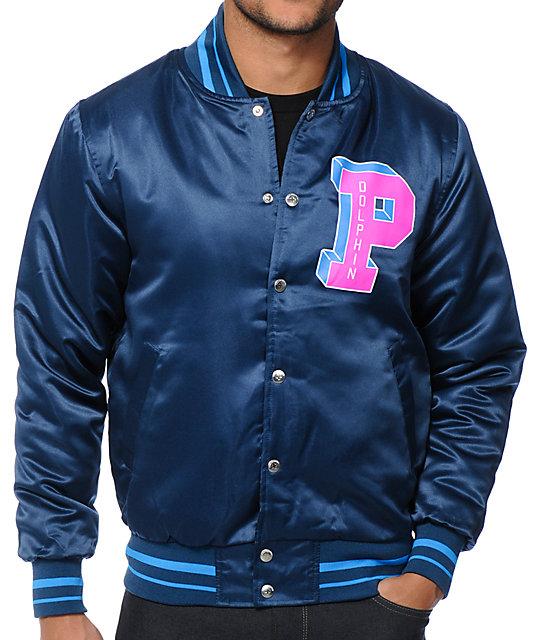 Pink Dolphin Varsity P Jacket at Zumiez : PDP