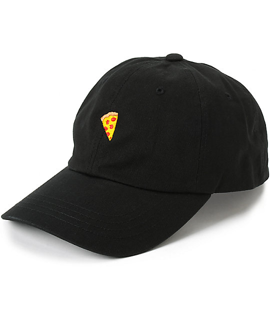 Pizza Emoji Delivery Strapback Hat