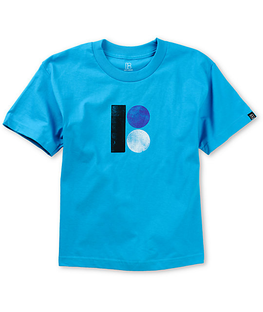 Plan B Boys Original Turquoise T-Shirt