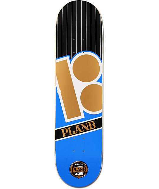 "Plan B Capital Team 8.0""  Skateboard Deck"